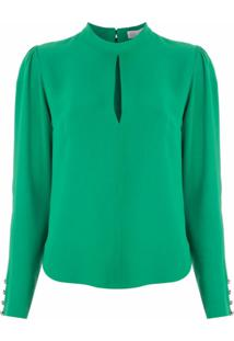 Nk Blusa Element Graca De Crepe - Verde