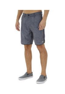 Bermuda Hd Híbrido Texture - Masculina - Cinza Escuro