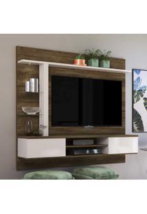 Painel Para Tv Até 60 Polegadas Salinas Canela/Off White - Colibri Móveis