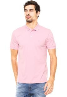 Camisa Polo Vr Bordado Rosa
