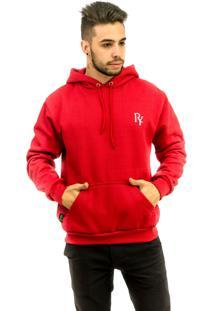 Blusa Rich Young Básica Vermelha