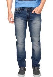 Calça Jeans Forum Greg Reta Azul