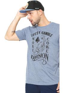 Camiseta Mcd Life Gamble Azul