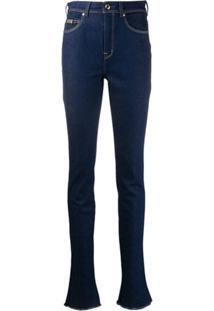 Versace Jeans Couture Calça Jeans Skinny Cintura Alta - Azul