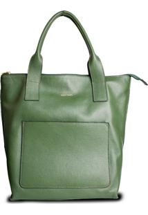 Bolsa Costtano Shopping Bag Musgo - Tricae