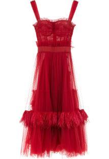 3b06f2196ac9a Vestido Dolce E Gabanna Vermelho feminino   Gostei e agora