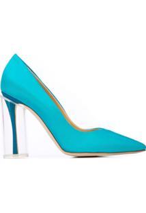 Rosie Assoulin Scarpin Bico Fino - Azul