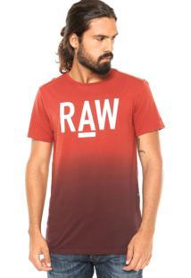 Camiseta G-Star Lars Laranja
