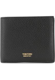 Tom Ford Carteira Com Logo - Preto