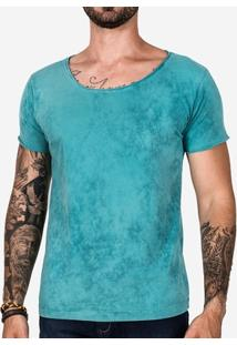 Camiseta Hermoso Compadre Turquesa Masculina - Masculino