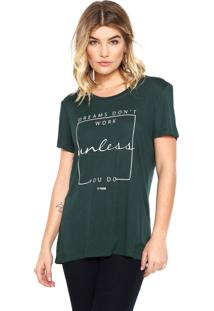 Camiseta Forum Unless Verde