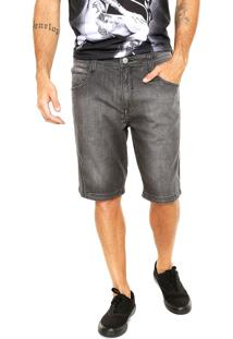 Bermuda Jeans Mcd Reta Glove Dark Preta