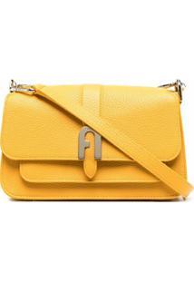 Furla Bolsa Com Alça De Mão 1927 - Amarelo
