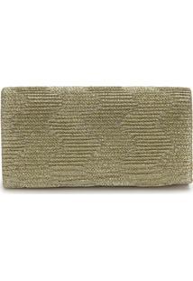 Bolsa Carteira Lara - Dourado