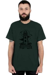Camiseta Bleed American Lighthouse Musgo