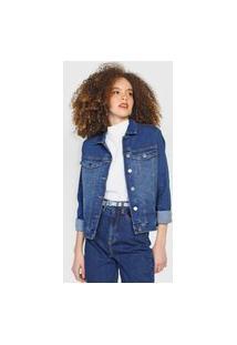 Jaqueta Jeans Calvin Klein Jeans Bolsos Azul