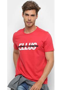 Camiseta Manga Curta Ellus Masculina - Masculino