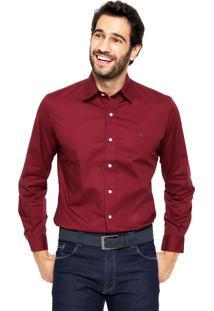Camisa Polo Play Reta Harry Vinho
