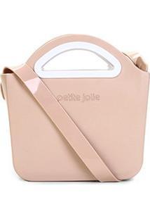 Bolsa Petite Jolie Mini Bag Flix Fosca Feminina - Feminino-Bege Claro