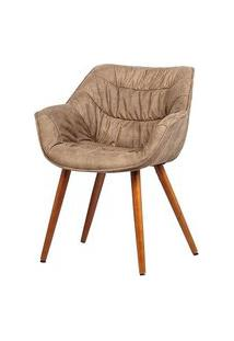 Cadeira Com Braco Bumpee Vintage Marrom - 37953 Preto