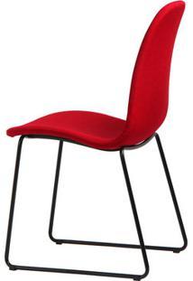 Cadeira De Jantar Chantilly Vermelha - Vitrine Do Mundo