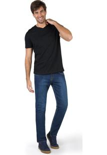 Calça Jeans Skinny Flex Destroyer