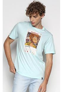 Camiseta Cavalera T Shir T Salsicha Tinder Masculina - Masculino-Verde