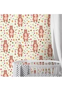Papel De Parede Bear Cute Girl Clean