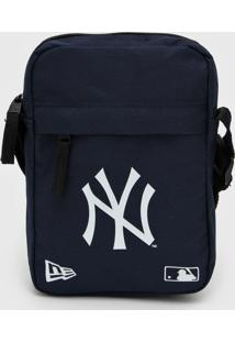Bolsa New Era Shoulder Bag New York Yankees Azul-Marinho - Kanui