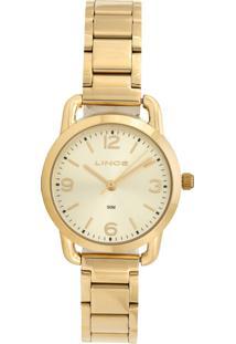 Relógio Lince Lrgj071L-C2Kx Dourado