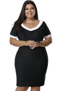 97c06459f Vestido Plus Size Social feminino