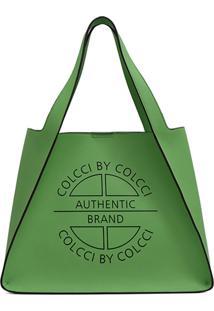 Bolsa Colcci Logo Verde