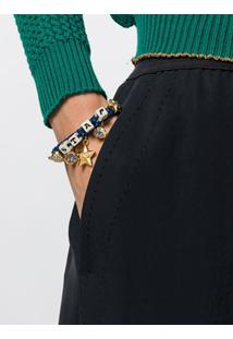 Dolce & Gabbana Pulseira Com Pingentes - Azul
