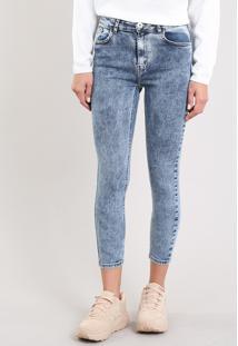 Calça Jeans Feminina Skinny Azul Escuro