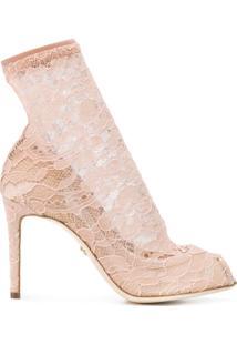 fc975838cd Sapato Com Salto Dolce E Gabanna feminino