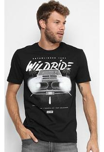 Camiseta Globe Básica Glow Wilk Ride Masculina - Masculino