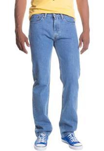 Calça Jeans 505 Regular Levis - Masculino-Azul