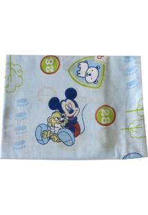 Fronha Minasrey Avulsa Disney Mickey 28Cmx40Cm Azul