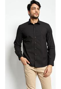 Camisa Slim Fit Lisa- Pretavip Reserva