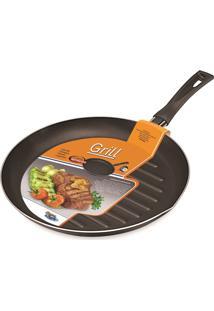 Frigideira Grill 28 Cm Preto Dona Chefa