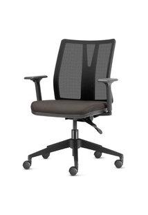 Cadeira Addit Assento Crepe Chumbo Com Base Piramidal Em Nylon - 54104 Chumbo