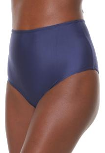 Calcinha Agua Doce Hot Pant Lisa Azul-Marinho