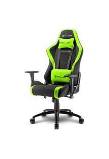 Cadeira Gamer Sharkoon Skiller Sgs2 Black Green