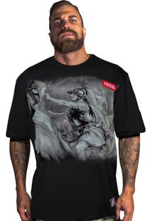 Camiseta Prison Estampada Preta