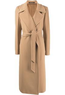 Tagliatore Trench Coat Molly - Marrom