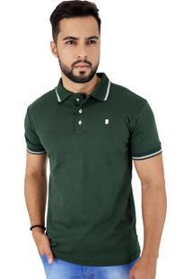 Camisa Polo Blitz Malha Suedine Verde Es