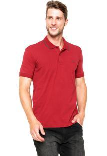 Camisa Polo Sommer Reta Comfort Vermelha