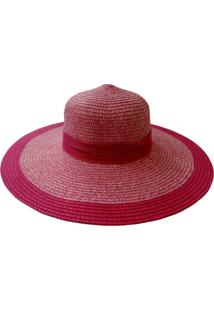 Chapéu De Palha Zohar Noni Rosa