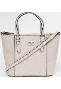 Bolsa Transversal & Texturizada Com Tag - Off White Guess