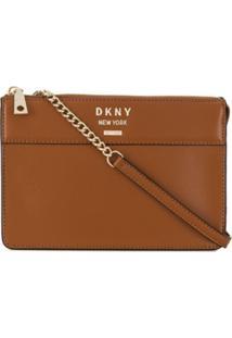 Dkny Cross Body Bag - Marrom